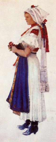 Bosaca, Slovakia Embroidery, Painting, Art, Art Background, Needlepoint, Painting Art, Kunst, Paintings, Performing Arts