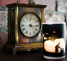 Carew Rice silhouette candle holders