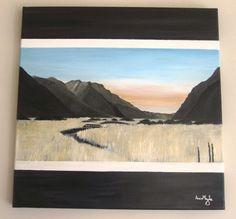 A south island scene, Abner Moyle