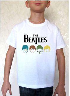THE BEATLES 4 shirt toddles kid tshirts the beatles by PetyaShirts, $10.95