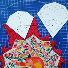 Composite shapes for Tula Pink La Passacaglia