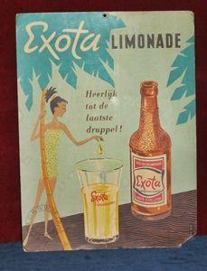 oude reclameborden exota - Google zoeken