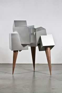 Fabulous. How do you open it?  Surreal Storage Cabinet - Vault by Dahna Laurens