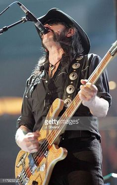 Lemmy Kilminster of Motorhead during WWE WrestleMania 21 'WrestleMania Goes Hollywood' at Staples Center in Los Angeles California United States Dark Pictures, Dark Pics, Wrestlemania 21, Peter Frampton, Tribute, Ace Of Spades, Tina Turner, Los Angeles California, The Godfather