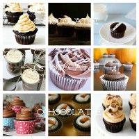 30 Chocolate Cupcake Recipes-- because it's Chocolate Cupcake Month!! #chocolate #cupcakes #recipes