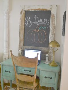 Fall House Tour: Inside an Iowa Home Filled with DIY Decorations