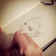 sketching!!