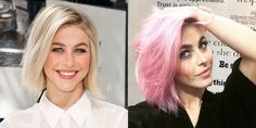 Julianne Hough's pink hair. See the rest of 2015's celebrity hair transformations.