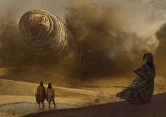 Dune Messiah by Marc Simonetti - ImaginaryArrakis Dune Series, His Dark Materials, A Discovery Of Witches, Image Painting, Night Circus, Traditional Paintings, Fantasy Books, Comic Books Art, Painting Techniques