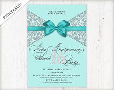 Hey, I found this really awesome Etsy listing at https://www.etsy.com/uk/listing/176800912/sweet-16-invitation-sweet-sixteen