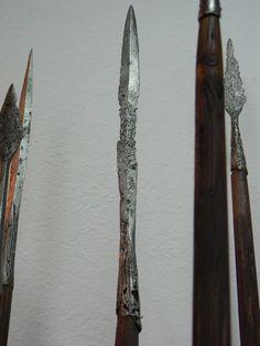 Spearheads from Kołobrzeg-Budzistowo, 1st half of 10.c.