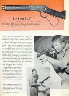 """Wanted Dead or Alive Rifle 
