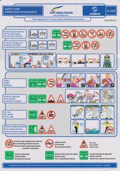 Safety Card  Air Moldova A320 (1)