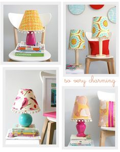 Let's make a fun lamp shade!