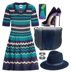 """""""Missoni Stripes"""" by cherieaustin ❤ liked on Polyvore featuring Marc by Marc Jacobs, M Missoni, Vince, rag & bone, Eva Fehren and Casadei"""