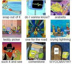 Arctic Monkeys music videos as SpongeBob screencaps Alex Turner, Monkey Icon, Monkey 3, Matt Helders, Sheffield, Monkey Memes, Arctic Monkeys Lyrics, Do I Wanna Know, Ghost Cookies