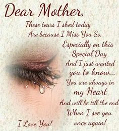 668 Best Mom In Heaven Images In 2019 Miss You Quote Love