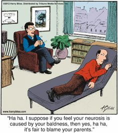 Cold comfort cognitive therapy. Harry Bliss.
