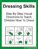 how to teach a child to dress themselves