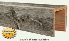 Old Barn Wood Beams | Unique Aged Look for Your Home