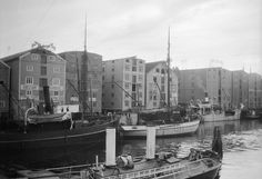 Boats in Trondheim, Norway by Swedish National Heritage Board, via Flickr