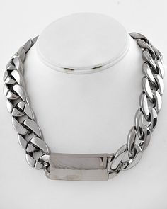 Thick Tag Necklace $20