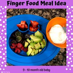 Babies Eating at 10 Months - Lessons By The Lake 10 Months Baby Food, 10 Month Old Baby Food, Baby Meal Plan, Baby Finger Foods, Baby Foods, Whole Wheat Waffles, Baby Eating, Baby Food Recipes, Food Baby