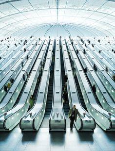 Escalators #photography #architecture