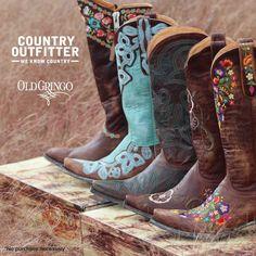 Dirt roads or dance floors, I need all five pair!!!!