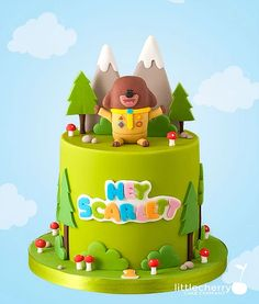 Multi gold award winning cake designer in the UK speciailising in alternative, fun and geeky bespoke wedding cakes. Little Cherry Cake Company is based in Bacup, Rossendale, Lancashire 2nd Birthday Cake Boy, 2nd Birthday Parties, Birthday Ideas, Cakes For Boys, Party Cakes, First Birthdays, Trendy Baby, Cbeebies Cake, Sweets