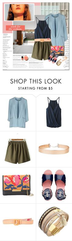 """Sorbet"" by undici ❤ liked on Polyvore featuring Pepe Jeans London, Miss Selfridge, Lizzie Fortunato Jewels, Miu Miu, Prada and Stella & Dot"
