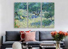 Vincent van Gogh Olive Orchard Canvas Print - iCanvas.com