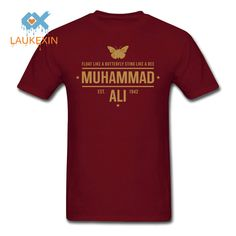 muhammad ali T shirts 2016 Summer Mens MUHAMMAD ALI T Shirts Men Fitness Casual clothing MMA. Click visit to buy #TShirt