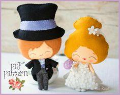 The groom and the bride PDF Pattern por Noialand en Etsy, $10.00