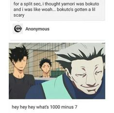 Haikyuu This is totally not funny! ...okay, maybe a little bit...