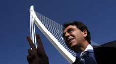 Find out more abut our most famous valencian architect, Santiago Calatrava, creator of the City of Arts and Sciences, identity of Valencia. Facts About Spain, Oscar Niemeyer, Santiago Calatrava, Famous Architects, Alvar Aalto, Futuristic Architecture, Zaha Hadid, Spanish Language, Civil Engineering
