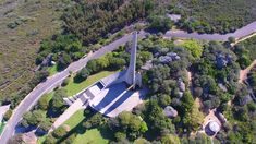aerial view of paarl monument Aerial View, Mansions, House Styles, Image, Fancy Houses, Mansion, Manor Houses, Mansion Houses, Villas