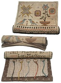 Birdy Stitching Roll from La-D-Da - click for details