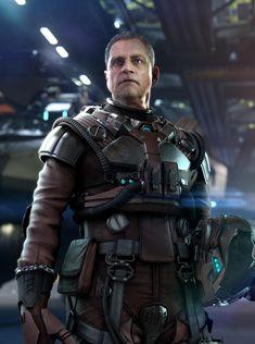 ArtStation - Star Citizen UEE Naval Pilot Suit, Omar Aweidah