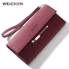 EELa Cat Women Long Wallet,Zipper Clutch Purse Bag PU wristlet