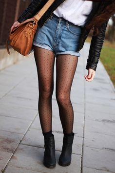 pur - # dress Best Picture For Casual Outfit everyday For Your Taste You are looking for something, and it is going to tell you exactly what you are Mode Outfits, Short Outfits, Fashion Outfits, Womens Fashion, Fashion Hacks, Cute Casual Outfits, Grunge Outfits, Pantyhose Outfits, Stockings Outfit
