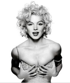 Beautiful, isn't she? MARILYN MONROE