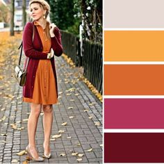 New Dress Summer Red Color Combos 50 Ideas Colour Combinations Fashion, Color Combinations For Clothes, Fashion Colours, Colorful Fashion, Color Combos, Colour Schemes, Maroon Color, Burgundy Color, Red Color