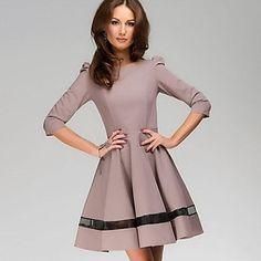 Womens Stunning Lia London Ball Gown Dress Khaki