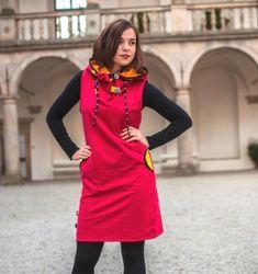 Šaty / tunika - 100% bavlna / Zboží prodejce Jane Art | Fler.cz High Neck Dress, Dresses, Fashion, Tunic, Turtleneck Dress, Vestidos, Moda, Fashion Styles, Dress