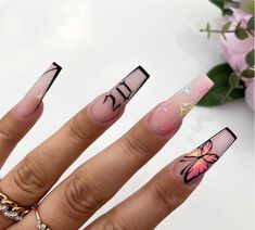 Drip Nails, Aycrlic Nails, Swag Nails, Cute Nails, Hair And Nails, Stiletto Nails, Cute Acrylic Nail Designs, Best Acrylic Nails, Summer Acrylic Nails