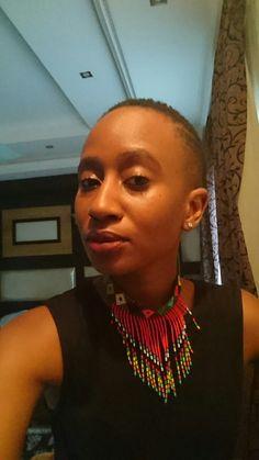 Zulu traditional choker <3