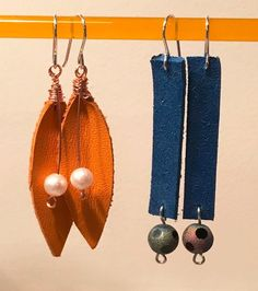 DIY Leather Earrings Tutorial on Instructables