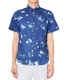 Paul Smith(ポールスミス)のSUNLIGHT FLORAL PRINT S/S SHIRTS (PS LINE)(シャツ・ブラウス)|詳細画像
