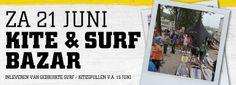 4 keer per jaar is er bij Telstarsurf een bazar. Klanten kunnen hun gebruikte windsurfboard, kite of SUP inleveren voor verkoop.
